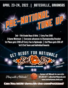 Bad Boy Pre-National Tune Up @ Batesville Community Center | Searcy | Arkansas | United States