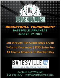 Basketball Bash 2021 Basketball Tournament @ Batesville Community Center | Kensett | Arkansas | United States